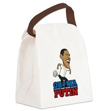 Obama Can't Stop Putin Pooting Fa Canvas Lunch Bag