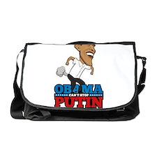 Obama Can't Stop Putin Pooting Farti Messenger Bag