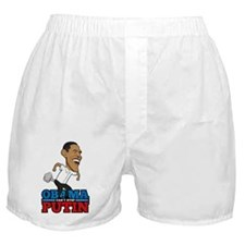 Obama Can't Stop Putin Pooting Fartin Boxer Shorts