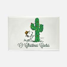O Christmas Cactus Rectangle Magnet