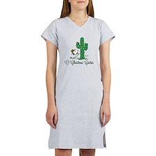 O Christmas Cactus Women's Nightshirt