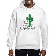O Christmas Cactus Hoodie