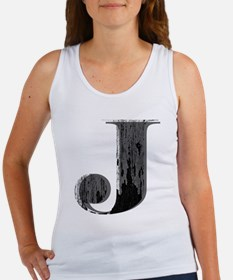 Grungy letter J Tank Top