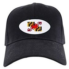 Maryland Crab Flag Baseball Hat