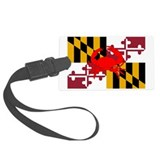 Maryland crab flag Luggage Tags