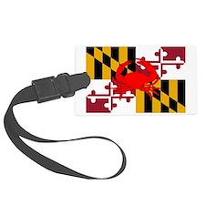 Maryland Crab Flag Luggage Tag