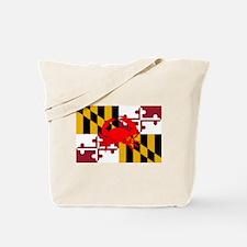 Maryland Crab Flag Tote Bag