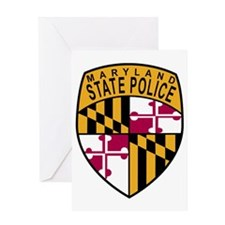 Maryland State Police Greeting Card