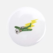 """Small Plane Airplane 3.5"""" Button (100 pack)"""