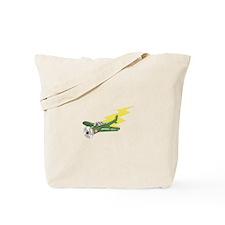 Small Plane Airplane Tote Bag