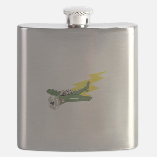 Small Plane Airplane Flask