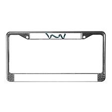 Ribbon License Plate Frame