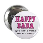 "Happy Baba... 2.25"" Button (10 pack)"