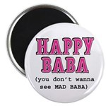 "Happy Baba... 2.25"" Magnet (10 pack)"