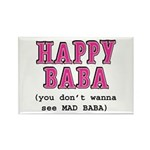 Happy Baba... Rectangle Magnet (10 pack)
