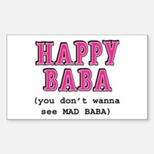 Happy Baba... Decal
