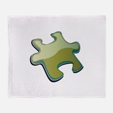 Puzzle Piece Throw Blanket