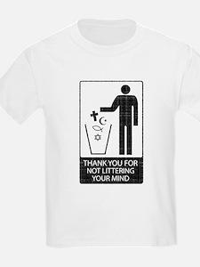 Anti-Religious (vintage look) T-Shirt