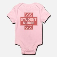 Danger Student Nurse -pink Infant Bodysuit