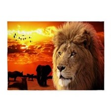 Lion King 5'x7'Area Rug