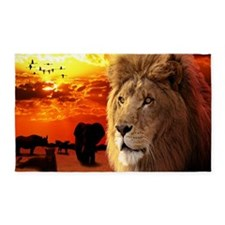 Lion King 3'x5' Area Rug