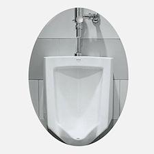 Urinal  Oval Ornament