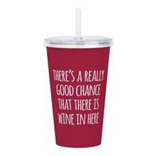 Wine in Here Acrylic Tumbler