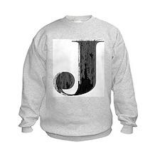 Grungy letter J Sweatshirt