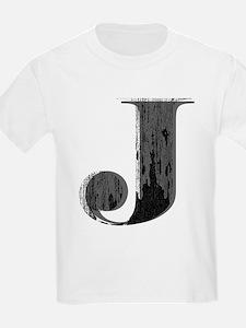Grungy letter J T-Shirt