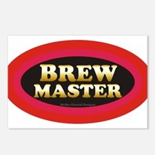 Brew Master Postcards (Package of 8)