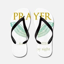 OYOOS Prayer Wing design Flip Flops