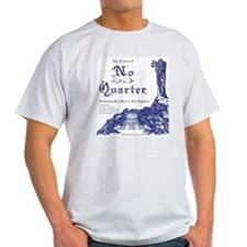 No Quarter-BG 11x14-blue NoBorder T-Shirt
