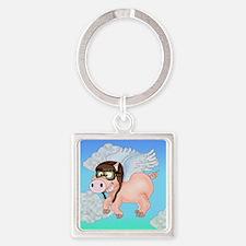 Flying Piggy Keychains