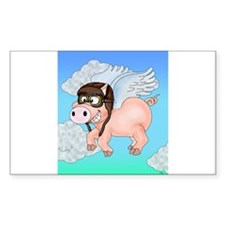 Flying Piggy Decal
