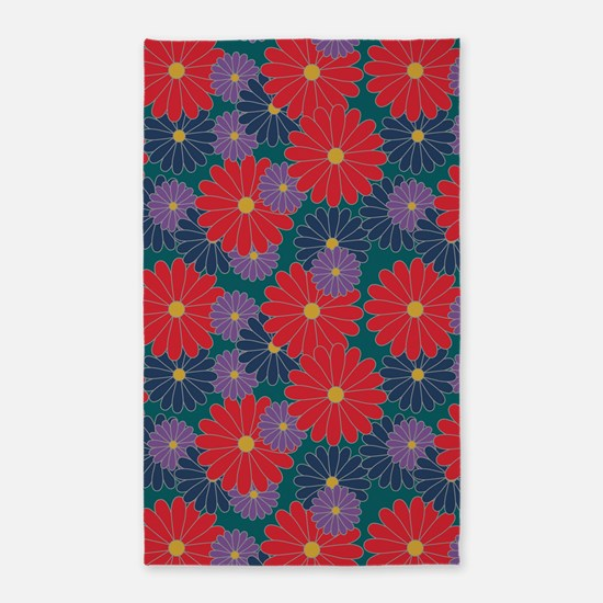 Fall Floral Area Rug