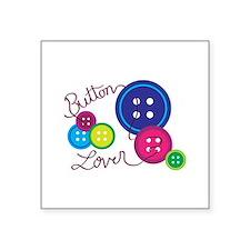 Button Lover Sticker