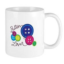 Button Lover Mugs