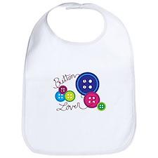 Button Lover Bib