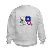 Button Lover Sweatshirt