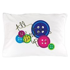 All Stitched Up Pillow Case