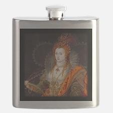 Queen Elizabeth I Flask