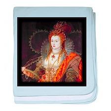 Queen Elizabeth I baby blanket