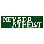 Nevada Atheist Bumper Sticker
