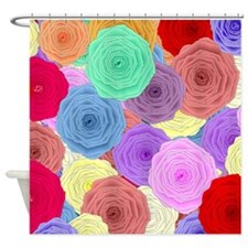 Rosez Shower Curtain