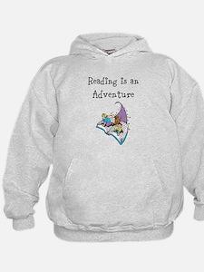 Reading is an adventure Hoodie