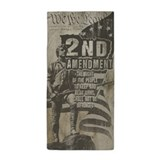 2nd amendment flag Beach Towels