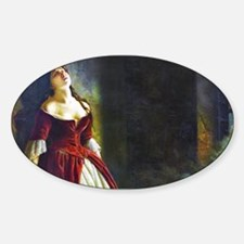 Flavitsky - Princess Tarakanova Sticker (Oval)