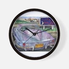 Cute Drive Wall Clock