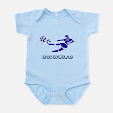 Honduras Soccer Player Infant Bodysuit