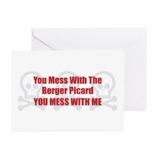 Mess With Berger Greeting Cards (Pk of 10)